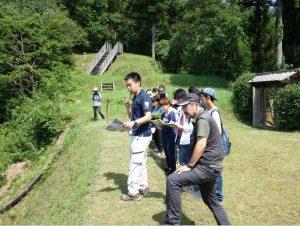 愛媛県北宇和郡松野町に所在する戦国時代の河後森城跡におけるフィールドワーク